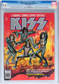 Magazines:Miscellaneous, Marvel Comics Super Special #1 KISS (Marvel, 1977) CGC NM/MT 9.8White pages....