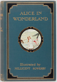 Lewis Carroll. Millicent Sowerby. Illustrator. Alice's Adventures in Wonderland. London: Chatto