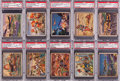 "Non-Sport Cards:Lots, 1938 R69 ""Horrors of War"" PSA NM-MT 8 Collection (10). ..."