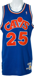 Basketball Collectibles:Uniforms, 1988-89 Mark Price Game Worn Cleveland Cavaliers Jersey. ...