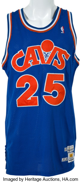 sports shoes 5cb27 a3dba 1988-89 Mark Price Game Worn Cleveland Cavaliers Jersey ...