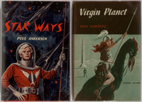 Poul Anderson. Group of Two Signed and Inscribed First Edition Books. Includes: Star Ways </