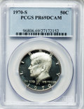 Proof Kennedy Half Dollars: , 1970-S 50C PR69 Deep Cameo PCGS. PCGS Population (244/0). NGCCensus: (328/0). Numismedia Wsl. Price for problem free NGC/...