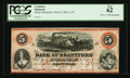 Canadian Currency: , Sault St. Marie, ON- The Bank of Brantford $5 Nov. 1, 1859 Ch. #40-12-08R. ...