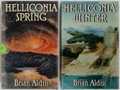 Books:Science Fiction & Fantasy, Brian Aldiss. Group of Two Signed First Edition Books in the Helliconia Series. Includes Helliconia Spring... (Total: 2 Items)