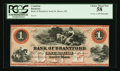 Canadian Currency: , Sault St. Marie, CW- Bank of Bradford $1 Nov. 1, 1859 Ch. #40-12-02R. ...