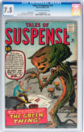 Silver Age (1956-1969):Science Fiction, Tales of Suspense #19 (Marvel, 1961) CGC VF- 7.5 Cream to off-whitepages....