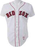 Baseball Collectibles:Uniforms, 1982 Wade Boggs Game Worn Boston Red Sox Rookie Jersey....