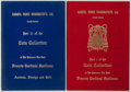 Books:Reference & Bibliography, [Numismatics]. Parts I and II of The Coin Collection of HisEminence The Late Francis Cardinal Spellman. Harmer, Roo...