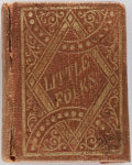 Books:Literature Pre-1900, [Miniature Books]. Aunt Laura. A Talk With the LittleFolks. Buffalo: Breed, Butler, & Co., 1863. Measures3 X 4...