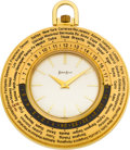 Timepieces:Pocket (post 1900), Luxor World Time Pocket Watch For Neiman Marcus. ...