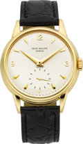 Timepieces:Wristwatch, Patek Philippe & Co. Very Fine Ref. 2510 Gent's Gold Wristwatch, circa 1953. ...