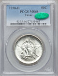 Commemorative Silver: , 1938-D 50C Texas MS66 PCGS. CAC. PCGS Population (284/79). NGCCensus: (301/94). Mintage: 3,775. Numismedia Wsl. Price for ...