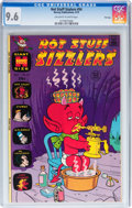 Bronze Age (1970-1979):Cartoon Character, Hot Stuff Sizzlers #54 File Copy (Harvey, 1973) CGC NM+ 9.6Off-white to white pages....