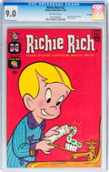 Silver Age (1956-1969):Humor, Richie Rich #22 File Copy (Harvey, 1964) CGC VF/NM 9.0 Off-white pages....