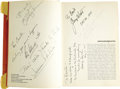 Movie/TV Memorabilia:Autographs and Signed Items, Emile LaVigne's Signed Academy Awards Book. Hollywood make-upartist Emile LaVigne took his copy of the 1964 book The Acad...(Total: 1 Item)