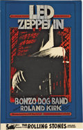 Music Memorabilia:Posters, Led Zeppelin Winterland Concert Poster BG-199 (Bill Graham, 1969).Two heavy-weight acts from Great Britain fill the bill o... (Total:1 Item)