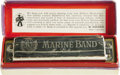 Musical Instruments:Miscellaneous, Bob Dylan's Harmonica. This Marine Band harmonica in the key of Gwas manufactured by Hohner and owned and used by Bob Dylan...(Total: 1 Item)