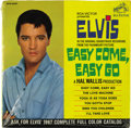 """Music Memorabilia:Recordings, Elvis Presley """"Easy Come, Easy Go"""" Sealed EP (RCA 4387, 1967). Pristine copy of the 6-song EP, excerpted from his movie of t... (Total: 1 Item)"""