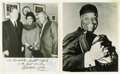 "Movie/TV Memorabilia:Autographs and Signed Items, Emmett Ashford Signed Photos. Includes two b&w 8"" x 10"" photos of Ashford, the first African-America umpire in Major League ... (Total: 1 Item)"