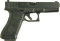 "Movie/TV Memorabilia:Props, ""In the Line of Fire"" Prop Pistol. Molded from a single piece ofhard plastic, this prop Glock 17 pistol was used as a stunt...(Total: 1 Item)"