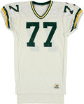 Football Collectibles:Uniforms, 1989-90 Tony Mandarich Game Worn Green Bay Packers Jersey....