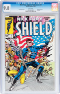 Modern Age (1980-Present):Superhero, Nick Fury, Agent of S.H.I.E.L.D. #1 (Marvel, 1983) CGC NM/MT 9.8White pages....