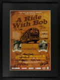 Autographs:Celebrities, [Broadside, Bob Wills]. C.K. McFarland. SIGNED. A Ride WithBob. Created for a special showing benefiting Th...
