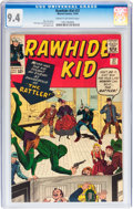 Silver Age (1956-1969):Western, Rawhide Kid #37 (Marvel, 1963) CGC NM 9.4 Cream to off-whitepages....
