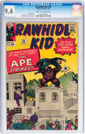 Silver Age (1956-1969):Western, Rawhide Kid #39 (Marvel, 1964) CGC NM 9.4 Cream to off-whitepages....