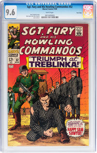 Sgt. Fury and His Howling Commandos #52 Twin Cities pedigree (Marvel, 1968) CGC NM+ 9.6 White pages