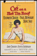 """Movie Posters:Drama, Cat on a Hot Tin Roof (MGM, 1958). One Sheet (27"""" X 41""""). Drama.. ..."""