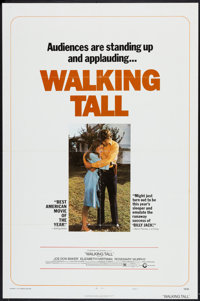 """Walking Tall and Other Lot (Cinerama Releasing, 1973). One Sheets (2) (27"""" X 41"""") Style C. Crime. ... (Total:..."""
