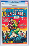 Bronze Age (1970-1979):Western, Tex Dawson, Gunslinger #1 (Marvel, 1973) CGC NM- 9.2 Off-white pages....