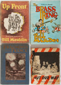 Books:Art & Architecture, [Cartoons]. Group of Four. Various publishers. Two works are from Pulitzer Prize winning editorial cartoonist Bill Mauldin... (Total: 4 Items)
