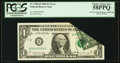 Error Notes:Foldovers, Fr. 1903-B $1 1969 Federal Reserve Note. PCGS Choice About New58PPQ.. ...