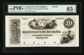 Obsoletes By State:Connecticut, Birmingham, CT- The Manufacturers Bank $20 G12P Proof. ...