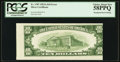 Error Notes:Skewed Reverse Printing, Fr. 1707 $10 1953A Silver Certificate. PCGS Choice About New58PPQ.. ...
