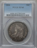 Bust Half Dollars: , 1808 50C XF40 PCGS. PCGS Population (83/334). NGC Census: (44/315).Mintage: 1,368,600. Numismedia Wsl. Price for problem f...