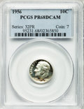 Proof Roosevelt Dimes: , 1956 10C PR68 Deep Cameo PCGS. PCGS Population (24/1). NGC Census:(29/13). Numismedia Wsl. Price for problem free NGC/PCG...