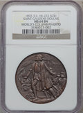 So-Called Dollars, 1892-1893 World's Columbian Exposition, Saint-Gaudens Dollar MS64 Brown NGC. HK-223, Eglit-19....