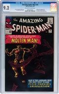 Silver Age (1956-1969):Superhero, The Amazing Spider-Man #28 (Marvel, 1965) CGC NM- 9.2 Off-white towhite pages....