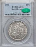 Bust Half Dollars: , 1832 50C Small Letters AU53 PCGS. CAC. PCGS Population (196/982).NGC Census: (160/1231). Mintage: 4,797,000. Numismedia Ws...