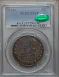 Bust Half Dollars: , 1826 50C XF45 PCGS. CAC. PCGS Population (236/1187). NGC Census:(158/1170). Mintage: 4,000,000. Numismedia Wsl. Price for ...