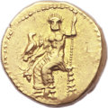 Ancients:Greek, Ancients: PERSIA UNDER ALEXANDER. Mazaeus, as Satrap of Babylon(331-328 BC). AV double-daric (21mm, 17.19 gm, 12h). ...