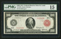 Large Size:Federal Reserve Notes, Fr. 1079a $100 1914 Red Seal Federal Reserve Note PMG Choice Fine 15.. ...