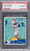 Baseball Cards:Singles (1930-1939), 1934 Goudey Chick Hafey #34 PSA NM-MT 8 - Only Two Higher. ...