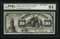 Canadian Currency: , Toronto, ON- The Home Bank of Canada $10 Mar. 1, 1904 Ch. #365-10-10S Specimen. ...