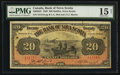 Canadian Currency: , Halifax, NS- The Bank of Nova Scotia $20 Jan. 2, 1929 Ch. # 550-28-22. ...