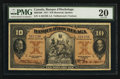 Canadian Currency: , Montreal, PQ- Banque D'Hochelaga $10 Jan. 2, 1917 Ch. # 360-24-08....